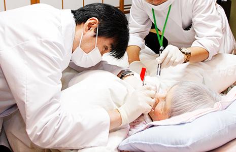 訪問歯科診療のイメージ